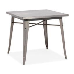 Zuo Olympia Dining Table Gunmetal
