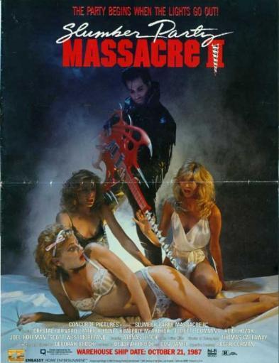 The Slumber Party Massacre Movie Poster (11 x 17) AJ36UUD8HD30HNIY
