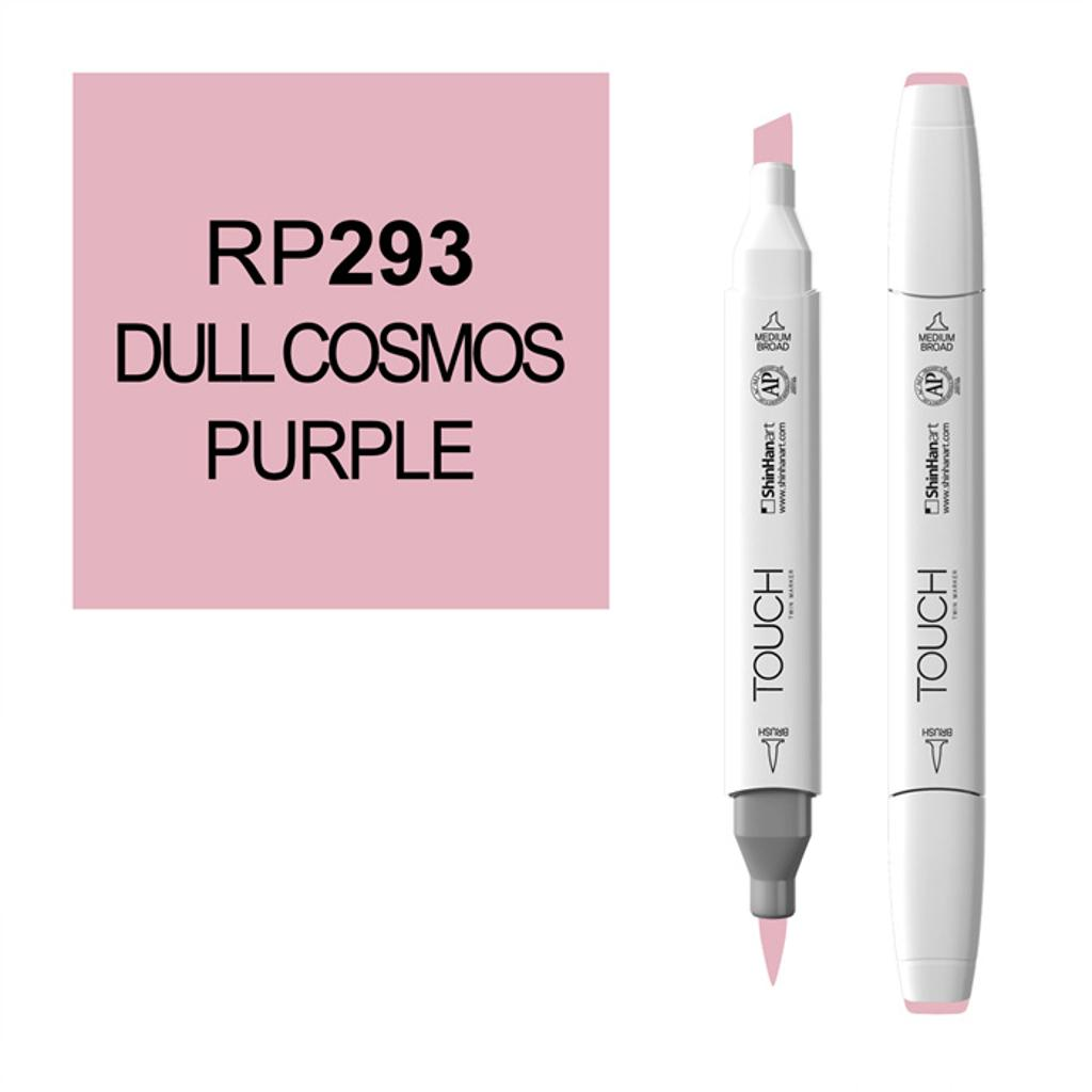 Shinhan art touch twin brush 1210293-rp293 dull cosmos purple marker