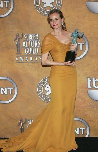 Diane Kruger In The Press Room For 16Th Annual Screen Actors Guild Sag Awards - Press Room, Shrine Auditorium, Los Angeles, Ca January 23, 2010.
