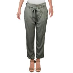 Celebrity Pink Womens Juniors Soft Belted Trouser Pants