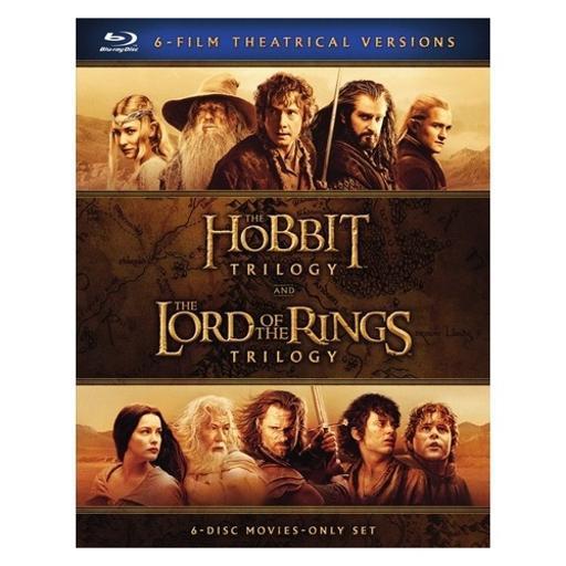 Hobbit trilogy/lord of rings trilogy (blu-ray/6pk) RROOHTG17HF8CN4F