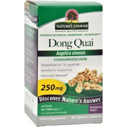 Nature's Answer Dong Quai Root Extract - 60 Vegetarian Capsules