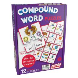 Junior learning 3 ea compound puzzles 244bn