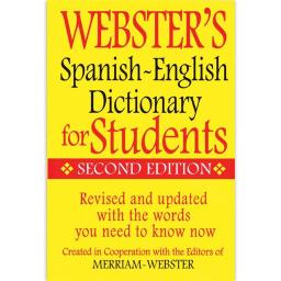 Federal Street Press FSP9781596951655 Websters Spanish English Dictionary for Students
