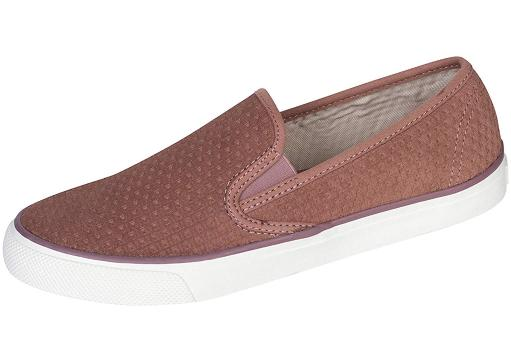 2dbbb289bf21 Sperry Sperry Womens Seaside Emboss Fabric Low Top Slip On Fashion ...