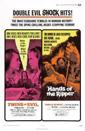 Twins Of Evil Hands Of The Ripper Us Poster 1971 Movie Poster Masterprint EVCMCDTWOFEC007HLARGE