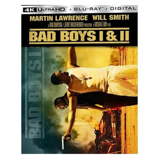Bad boys/bad boys ii (4k/br/w/digital)