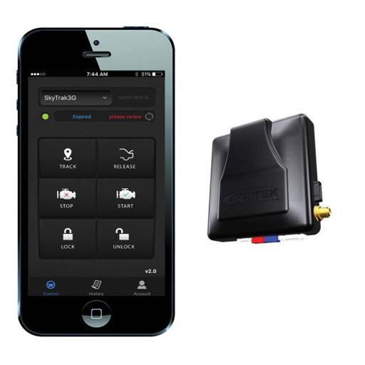 Scytek electronics scytek stand alone tracker smart phone upgrade for scytek remote start alarm
