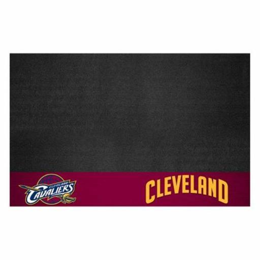 Fan Mats FAN-14200 Cleveland Cavaliers NBA Vinyl Grill Mat, 26 x 42 in.
