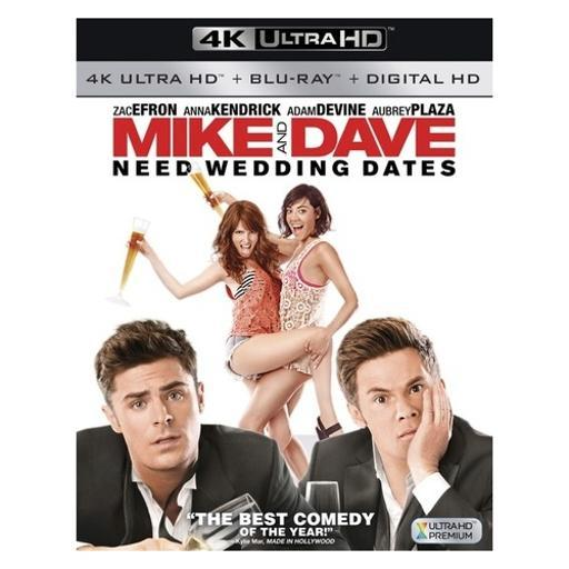 Mike & dave need wedding dates (blu-ray/4k-uhd/digital hd) UK3PGA1MMTD6HKGV