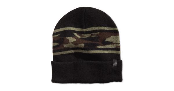 Steve Madden Mens Camouflage Winter Beanie Hat thumbnail