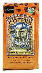 Raven's Brew Coffee - Three Peckered Billy Goat Organic Ground Coffee - 12 oz.