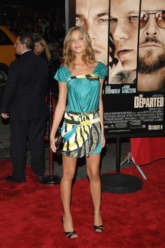 Anna Beatriz Barros At Arrivals For The Departed Premiere, Ziegfeld Theatre, New York, Ny, September 26, 2006. Photo By William D. BirdEverett.