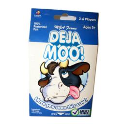MGA Deja Moo! Playing Card Set with Instructions 2-6 Players Ages 3 and Up