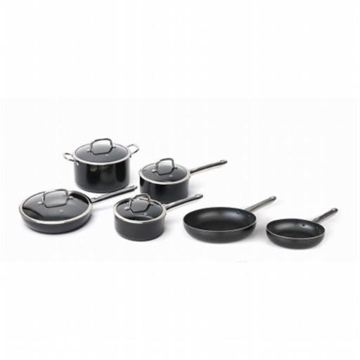 BergHOFF 2211348 EarthChef Nonstick Aluminium Cookware Set - 10 Pieces