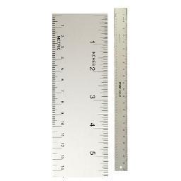 C-thru/westcott/acme Untd Ase24 Straight Edge Aluminum Ruler 24 Inch