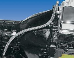 Milodon 22100 Stainless Steel Transmission Dipstick For General Motors Powerg... 22100