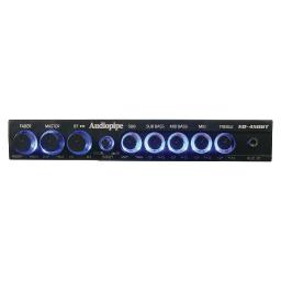 Audiopipe eq-450bt audiopipe 4 band wireless streaming graphic band equalizer w/bluetooth