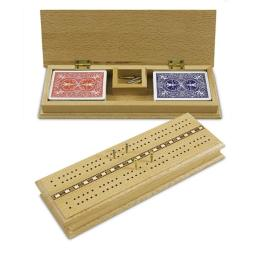 Sunnywood 2605 Deluxe Cribbage Box