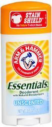 Arm & Hammer Essentials Deodorant Unscented - 2.5 oz