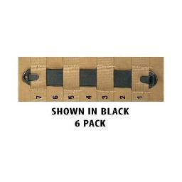 Blackhawk! 38c706bk bh speedclip 6 pack/ #7 7 blk