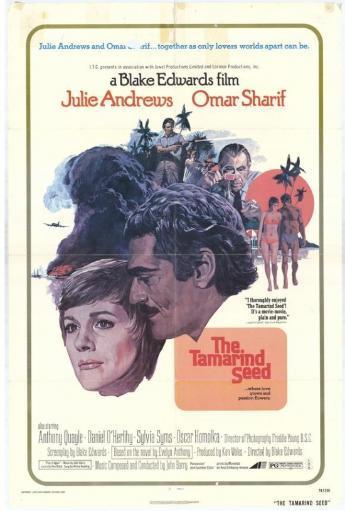 The Tamarind Seed Movie Poster Print (27 x 40)
