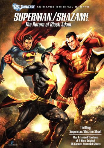 Dc showcase-superman/shazam-reutn of the black adam (dvd) YOLIMLCR1ROBHE8U