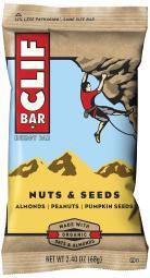 CLIF 161014 CLIF CLIF BAR NUTS & SEEDS 12/BOX