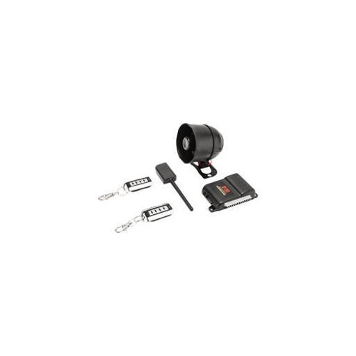 Crimestopper sp202 securityplus tm deluxe 1-way alarm keyless entry system two 5-button remotes