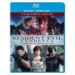 Resident evil-vendetta (blu ray) (2discs/1.78/ws/5.1) BR50158