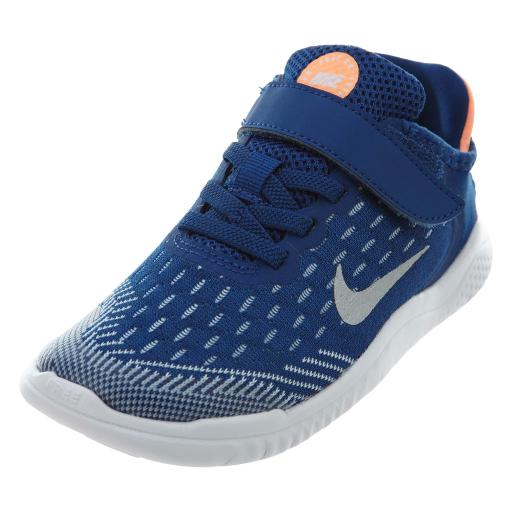 Nike Free RN 2018 PS 'Gym Blue' Boys / Girls Style: AH3455