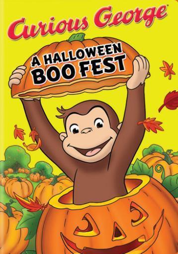 Curious george-halloween boo fest (dvd)
