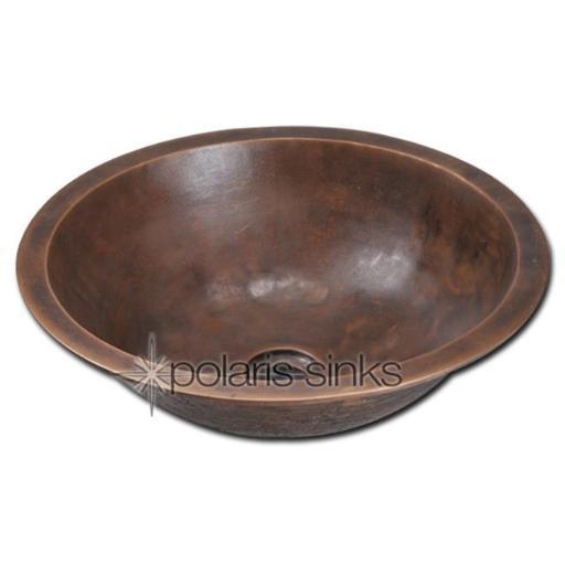 Polaris Sink P159 Single Bowl Bronze Bathroom Sink