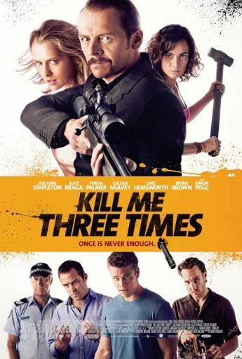 Kill Me Three Times Movie Poster (11 x 17) 4YJDTHGCFS1ECE4H