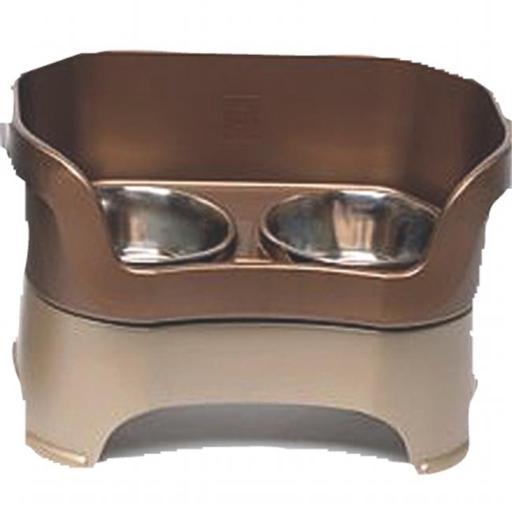 Neater Pet Brands - Neater Feeder Medium Dog- Bronze Medium Dog - 100-221-RB A62C9F2A3ECB787