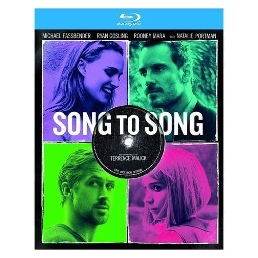 Song to song (blu ray) (ws/2.39/eng sdh/latin american span) 1491360
