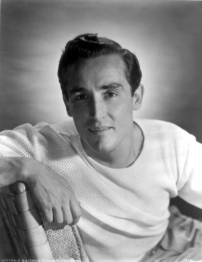 Vittorio Gassman Posed in White SweaTShirt Photo Print