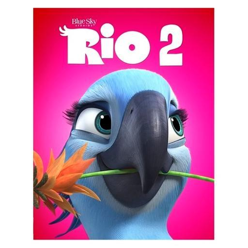 Rio 2 (blu-ray/dvd/dhd/2 disc/family icons o-ring) U17XMC0XYMG3GDR5