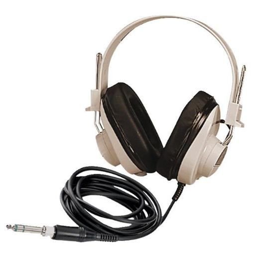 Califone 1543870 Deluxe Mono Headphone with Replaceable Straight Cord