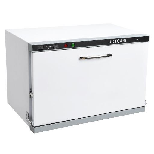 2in1 23L UV Sterilizer Hot Towel Warmer Cabinet Facial Skin Spa Massage Hair Beauty Salon Equipment