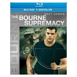 Bourne supremacy (blu ray w/digital hd) (new artwork) BR61177494