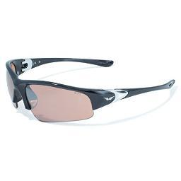 Global vision eyewear cooldrm cool breeze drm safety glasses with driving mirror lenses and black frame