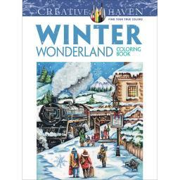 Dover Publications Creative Haven: Winter Wonderland