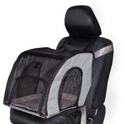 K&H Pet Products 7680 Gray K&H Pet Products Pet Travel Safety Carrier Large Gray 29.5 X 22 X 25.5