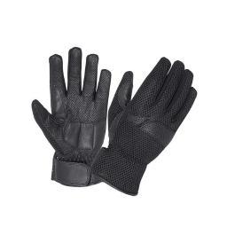 Unik International 8260-00-BLK-3XL Full Finger Leather Gloves, Black - 3XL 8260-00-BLK-3XL