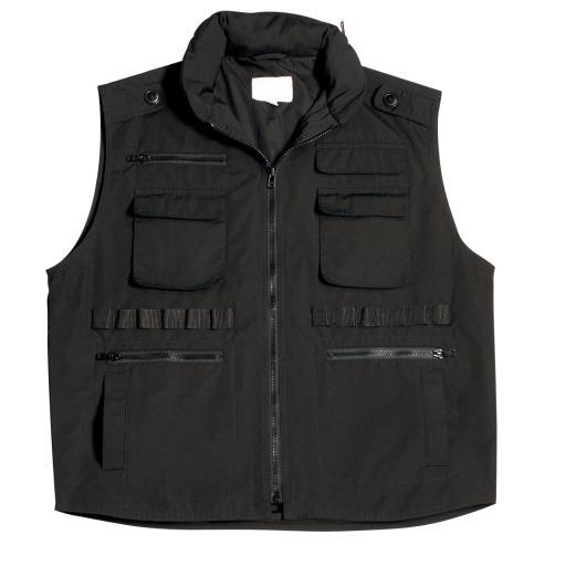 Kids Black Ranger Vest