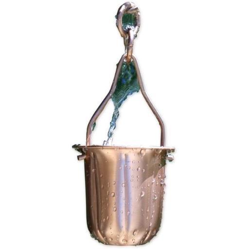 Copper Pot Rain Chain