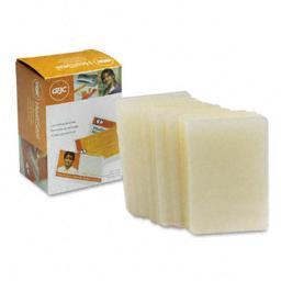 GBC Quartet 3202104 HeatSeal LongLife Premium Laminating Pouches  10mm  2-9/16 x 3-3/4  100/box