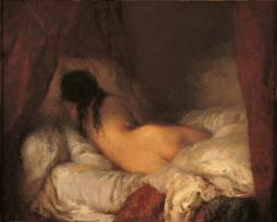 Reclining Female Nude Poster Print EVCMOND025VJ950H